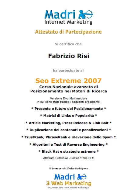 certificato-corso-avanzato-posizionamento-sui-motori-di-ricerca-2007