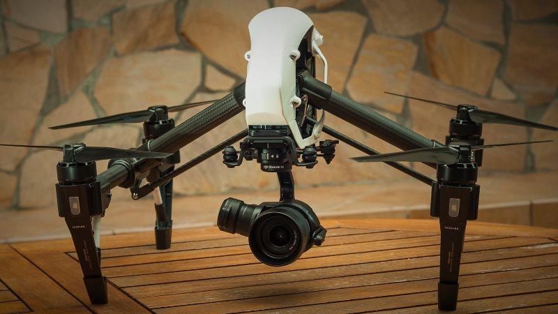 Riprese aeree con drone DJi INspire1 pro con zenmuse x5 1.7