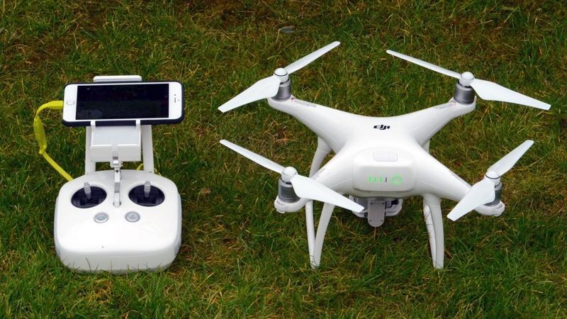 Riprese aeree con drone DJi Phantom 4